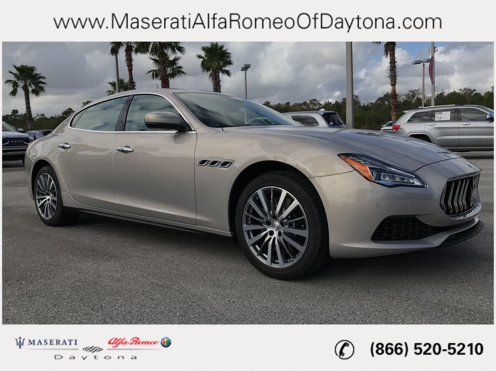 New 2018 Maserati Quattroporte S 4dr Car in Daytona Beach M