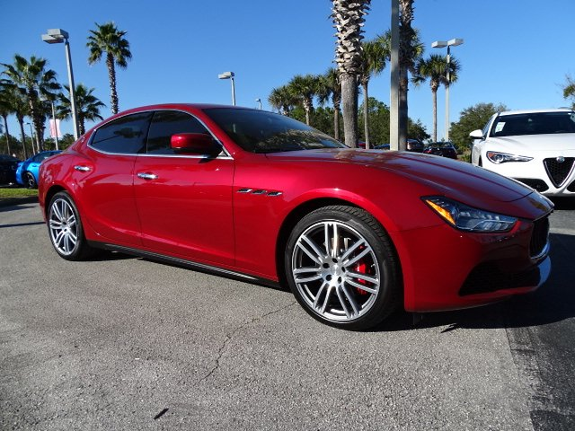 Certified Pre-Owned 2016 Maserati Ghibli 4DR SDN 3.0L