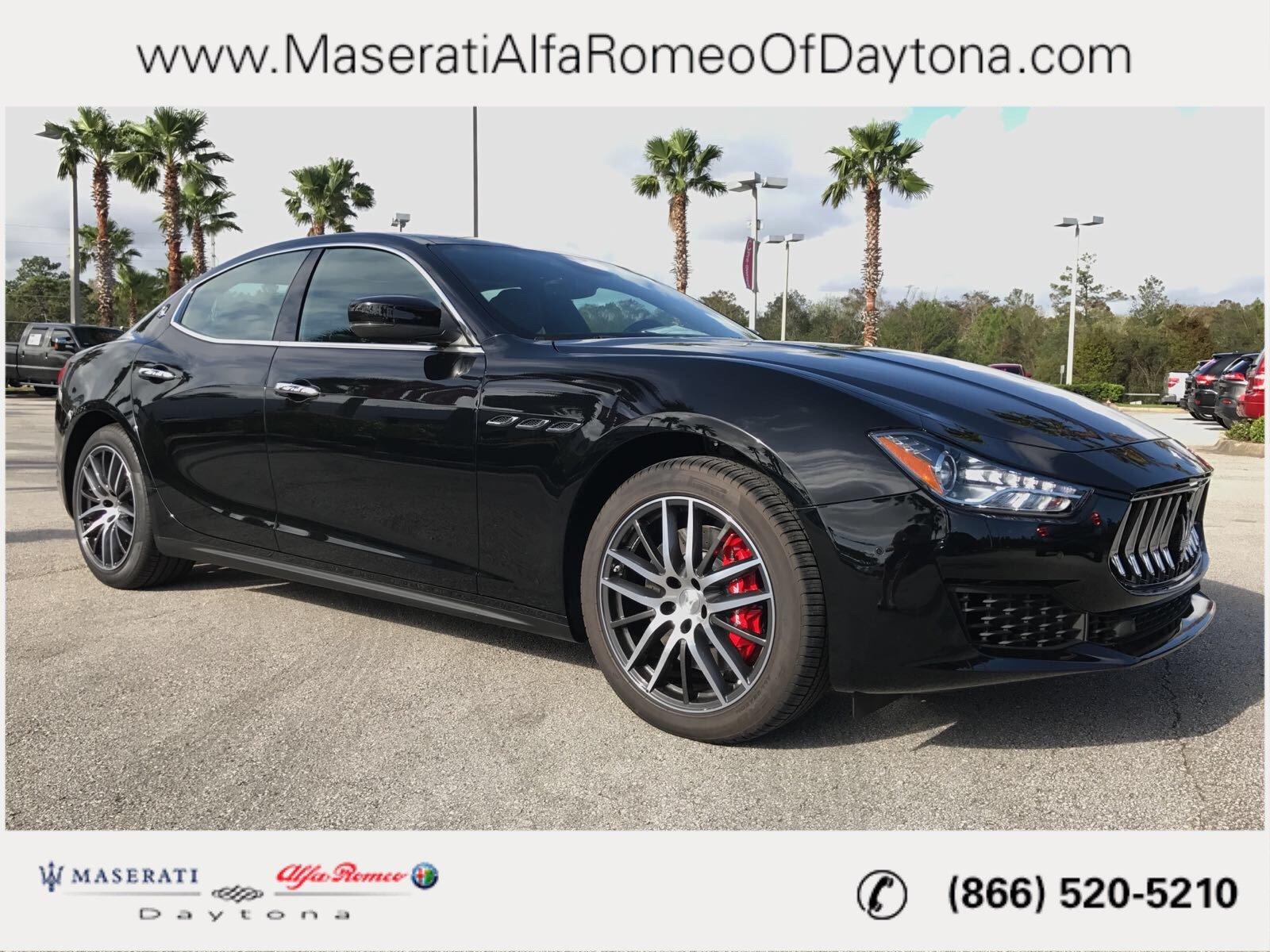 New 2018 Maserati Ghibli S 4dr Car in Daytona Beach M