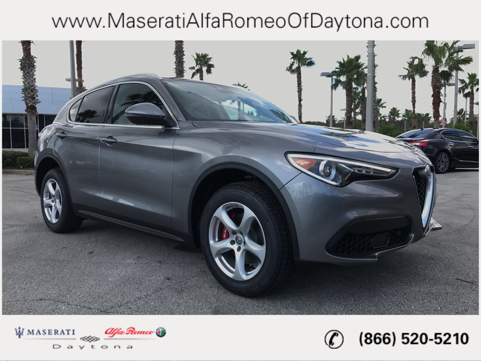 New 2018 Alfa Romeo Stelvio SUV in Daytona Beach A