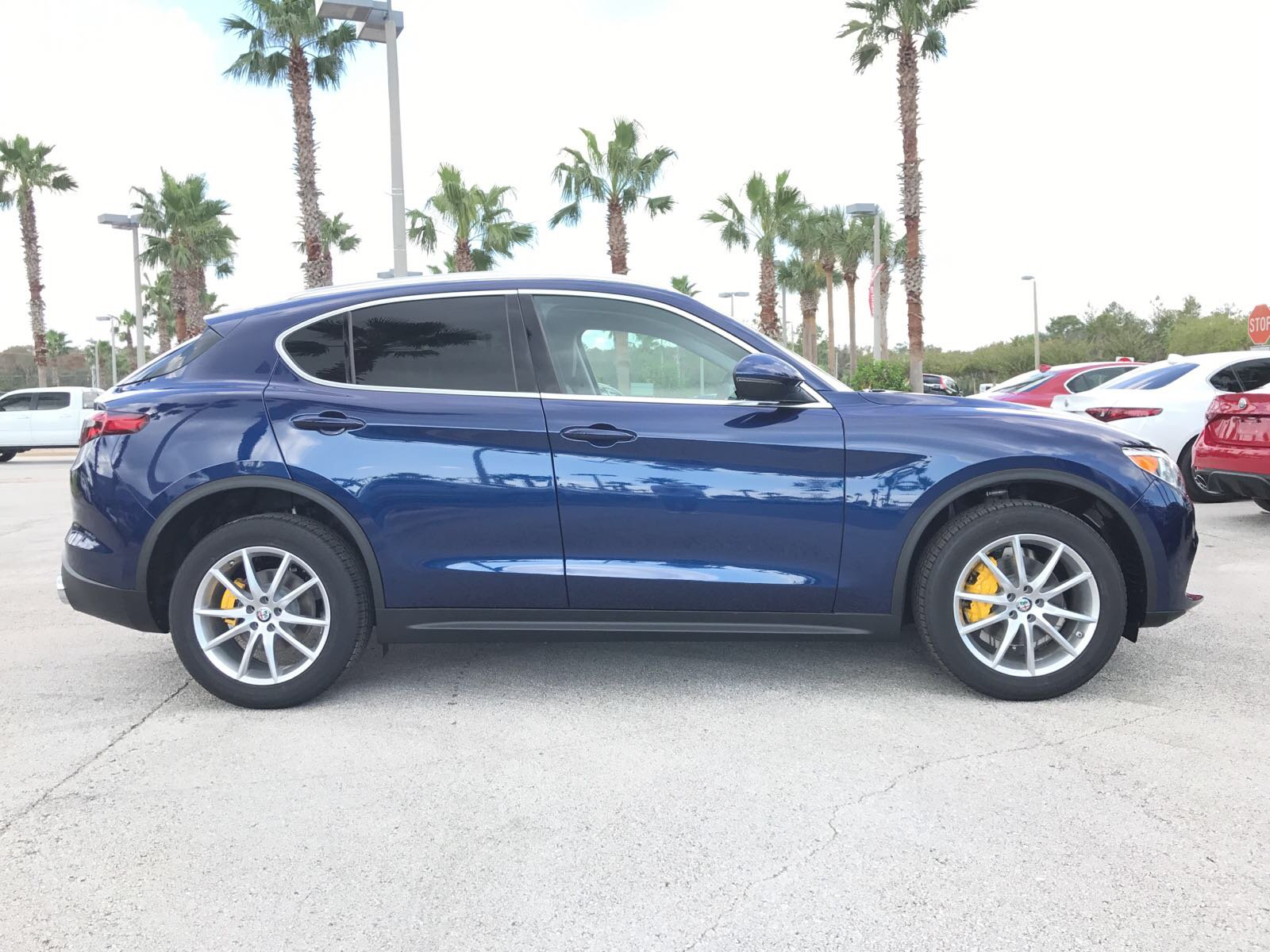 New 2018 Alfa Romeo Stelvio Ti SUV in Daytona Beach A