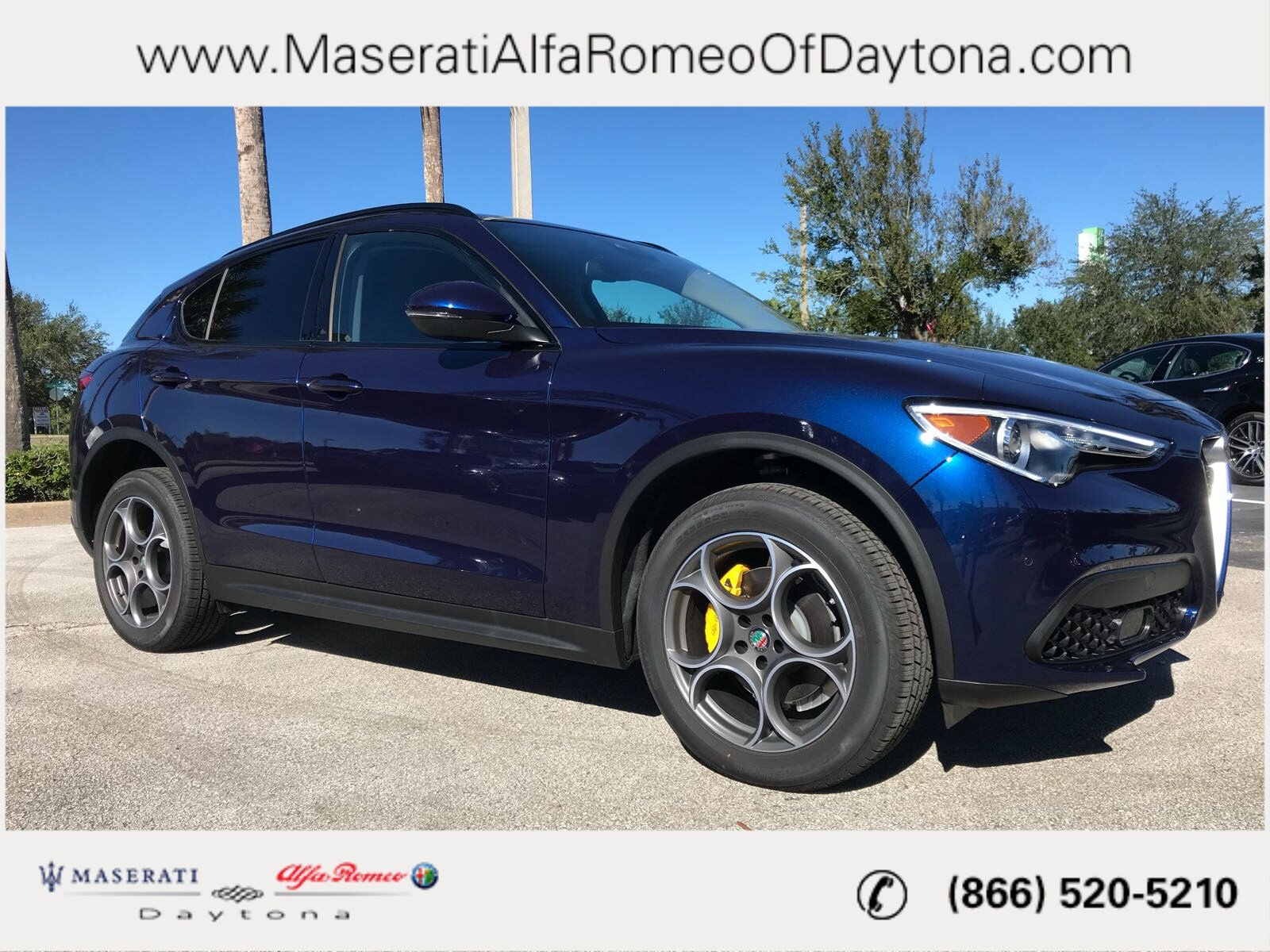 New 2018 Alfa Romeo Stelvio Sport SUV in Daytona Beach A