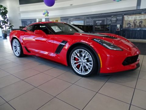 Pre-Owned 2017 Chevrolet Corvette Z06 1LZ